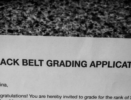 Testing for Black Belt in Karate… at Age 45