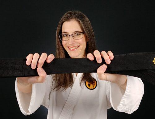 Achieving Black Belt in Karate